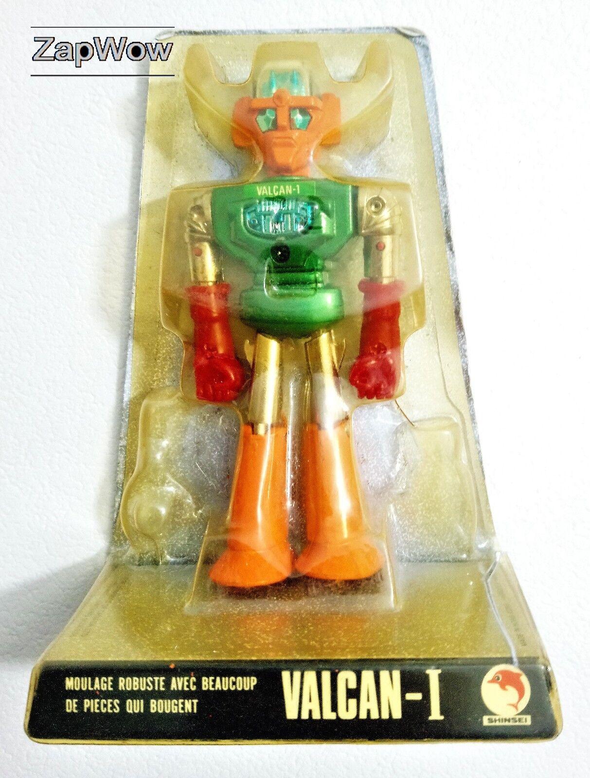 VALCAN-1 1970s UFO Commander 7 Die-Cast Mini Power 4172 Shinsei Kogyo Hong Kong