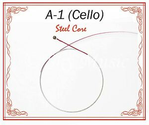 New Paititi Cello String Set 4//4 Size Cello Premium Quality Steel Core Ball End