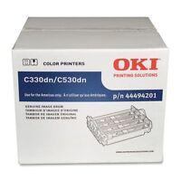 Genuine Oki 44494201 Imaging Drum Unit 20000 Page For C330dn, C530dn, Mc361 Mfp