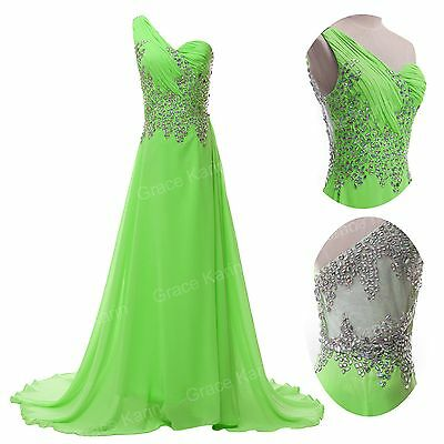 PLUS Long DESIGN Evening Formal Bridesmaid Wedding Ball Gown Prom Party Dresses