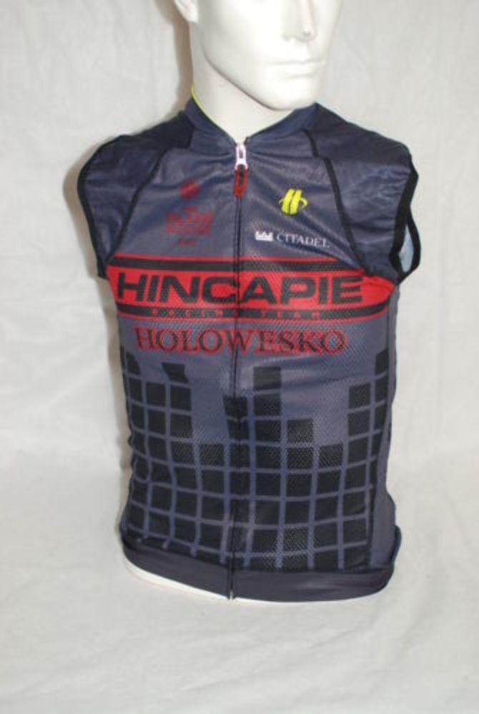 Hincapie Pro Cycling Team Max Sleeveless Jersey  Herren Medium NEW