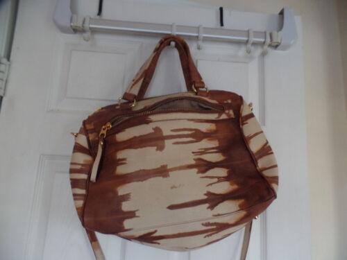 Vida Genuine Brazilian Beautifulamp; Leather Large sale ExcQuality Handbag Rare wkiOZluTPX
