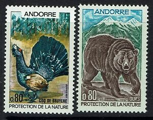 French-Andorra-SC-203-and-204-Mint-Never-Hinged-Lot-120716