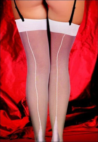 Sheer stocking in classic Cuban heel design Comes in 3 Sizes and 3 Colour