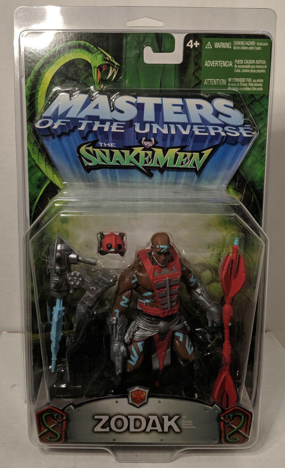 Masters del Universo 200X Amos del Universo vs el Snakemen Zodak Figura Mattel 2003