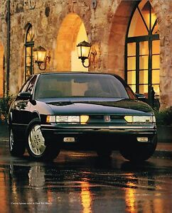 1997 oldsmobile cutlass supreme brochure catalog with color chart ebay details about 1997 oldsmobile cutlass supreme brochure catalog with color chart