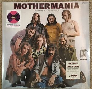 Frank Zappa Mothermania 180 Gram Vinyl Lp New Sealed