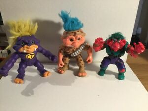 vintage 1992 Battle Troll & Troll Warriors Hasbro & Tyco