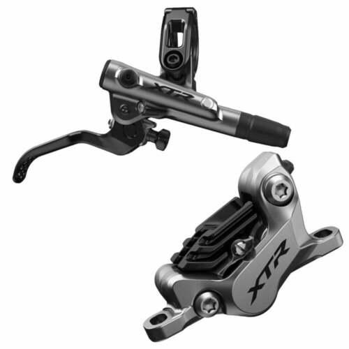 rear Shimano BR-M9120 XTR I-spec-EV ready brake lever//Post mount caliper