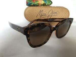 f352c2f669856 Image is loading New-Maui-Jim-Honey-Girl-Polarized-Sunglasses-HS751-