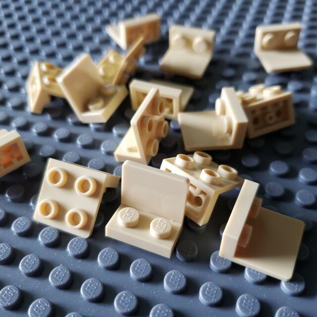 Lego X100 New Light Bluish Gray Bracket 1 x 2-2 x 2 Inverted Bulk Part #99207