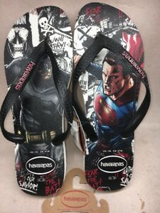 368b8c0f9 Image is loading Havaianas-Batman-vs-Superman-Special-Limited-Edition- Sandals-