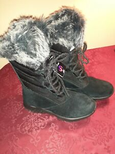 Escribe email bruscamente Doctrina  New Skechers Size 6 Women's Black Winter Waterproof Snow Boots   eBay