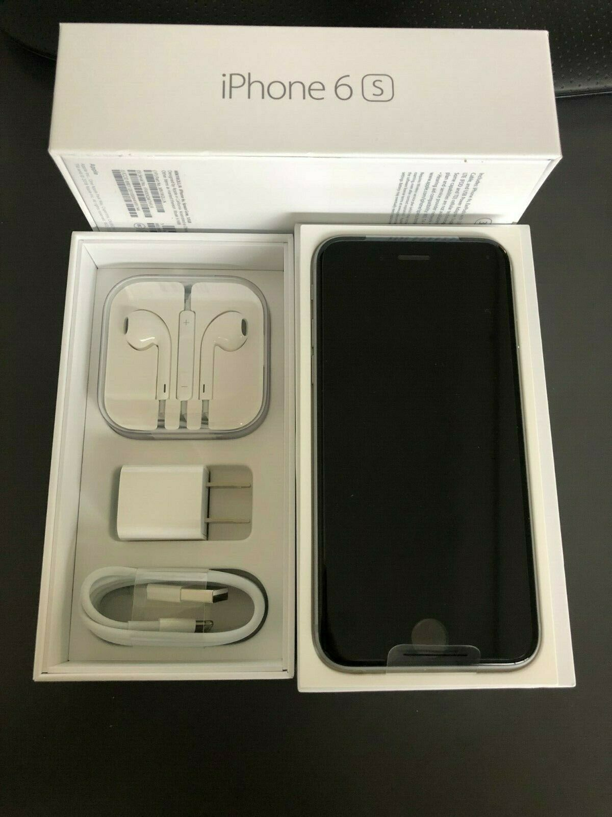 New Apple iPhone 6s - 32GB - Space Gray (Boost Mobile) A1688 (CDMA + GSM)