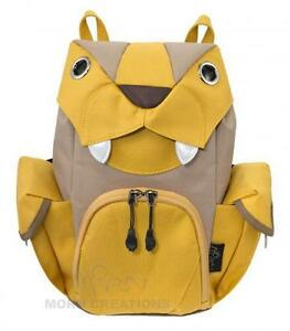 d37da585b55f Big Cat backpack SMALL Mustard MORN CREATIONS bag preschool lion ...
