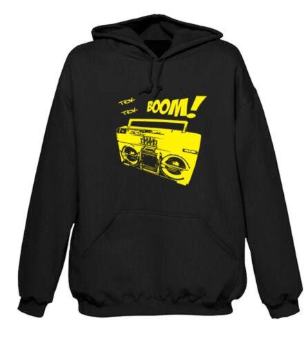 Boombox Hoody-Ghetto Blaster Hip Hop 1980 S Smurf T-Shirt-Tailles S-XXL