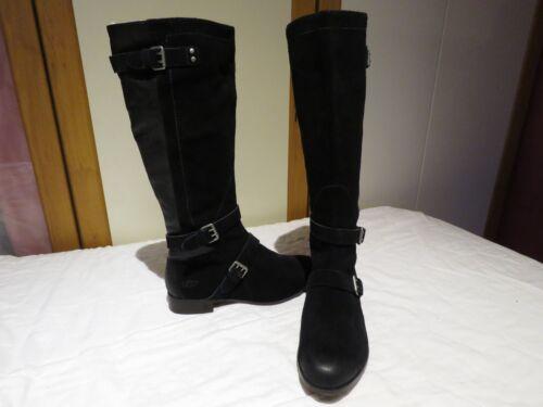 de cuero Australia Ugg® hasta Unido £ Rrp la 5 negras botas Cydnee altas Eu 41 260 8 Reino rodilla 8q0qd
