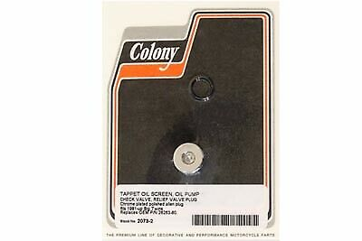 Oil Pump Screen Check Relief Plug,for Harley Davidson,by V-Twin