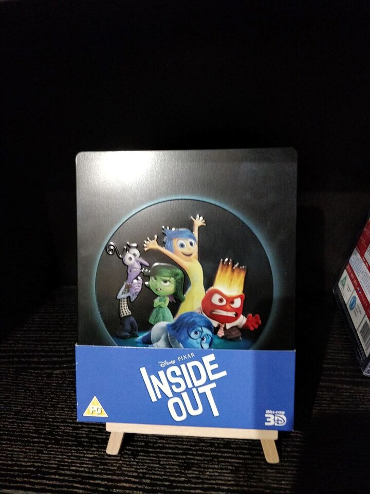Inside Out Steelbook, Blu-ray, animation
