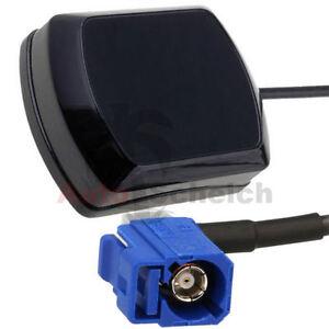 GPS-Antenne-Navi-Fakra-fuer-Audi-RNS-E-VW-MFD-2-RNS-300-310-500-510-RNS-2-MFD-3