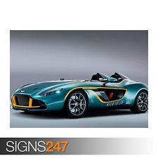Caresto V8 Speedster CARS3018 Art Print Poster A4 A3 A2 A1