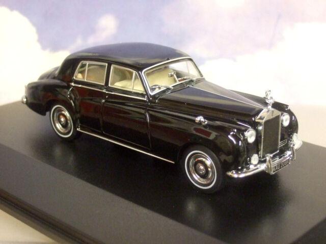 Excellent Oxford Diecast 1/43 RR Rolls Royce Argent Cloud I 1 en Noir 43rsc002