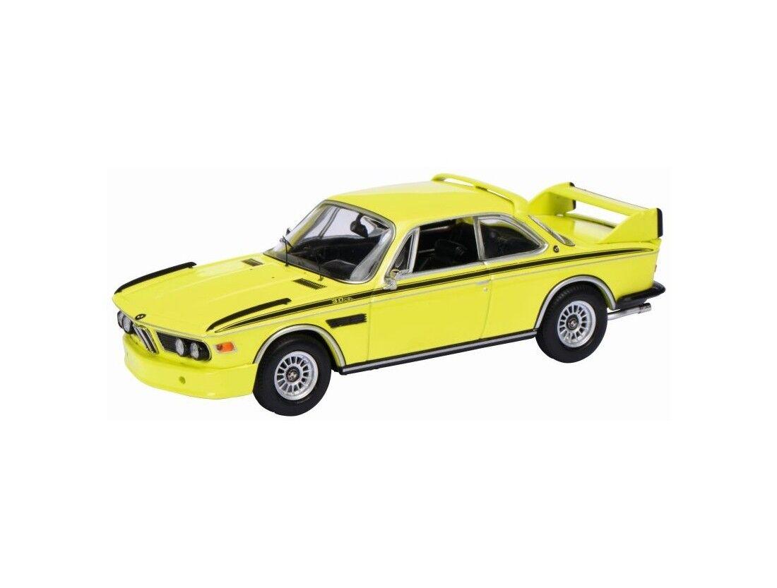 BMW CSL 3.0 E9 1971 jaune SCHUCO 02190 1 43 jaune JAUNE GALLIA
