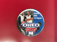 "Ken Griffey Jr.& Ken Griffey Nabisco Oreo Stacking 3"" Pin - 2001 - Oddball"