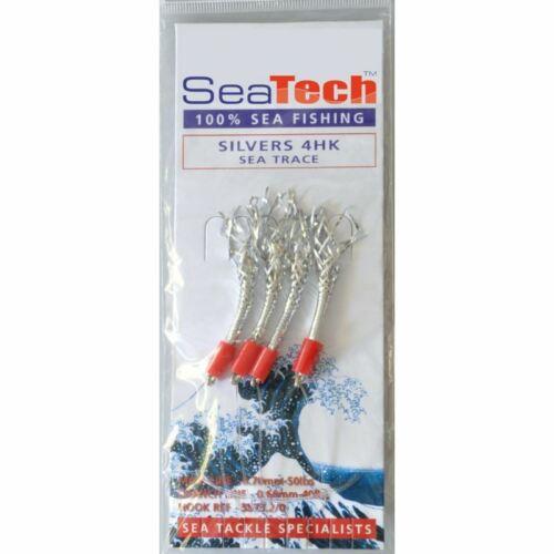 Sea Tech Argent Crevettes Maquereau Plumes