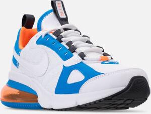 Details about Nike Air Max 270 Futura Casual Shoes White Orange Sz 11.5 AO1569 100