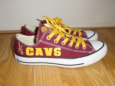 NEW Converse All Star Chuck Taylor NBA Cleveland CAVALIERS Cavs M6 W8 Shoes | eBay