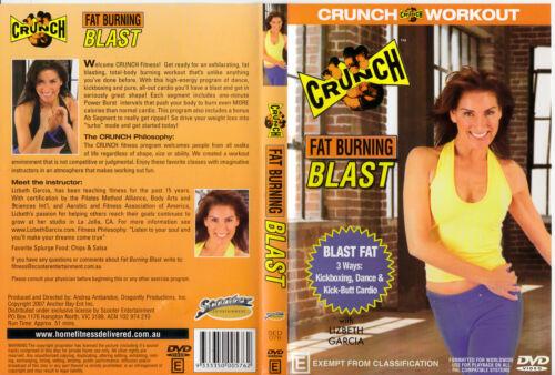 1 of 1 - CRUNCH WORKOUT : FAT BURNING BLAST 3 WAYS : Kick, Dance.. - Lizbeth Garcia DVD