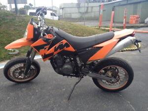 Image Is Loading KTM 640LC4 640 LC4 05 Motard Fuel Petrol