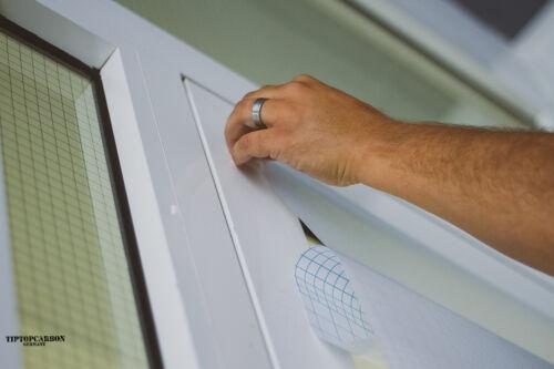 5€//m² Milchglasfolie Sichtschutzfolie Folie Fensterfolie Selbstklebend Fenster