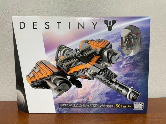 Mega Bloks Destiny Arcadia Jumpship Construction Set 501 Pcs