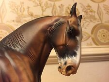 Crusher Artist Resin Horse sculpted by Kitty Cantrell Painted By Diana Abel