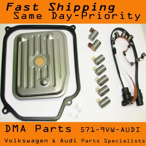 vw mk4 jetta beetle golf 2 0 transmission wiring harness shift solenoid kit  | ebay