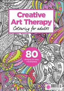Image Is Loading Creative Art Therapy Coloring For Adults 80 Designs