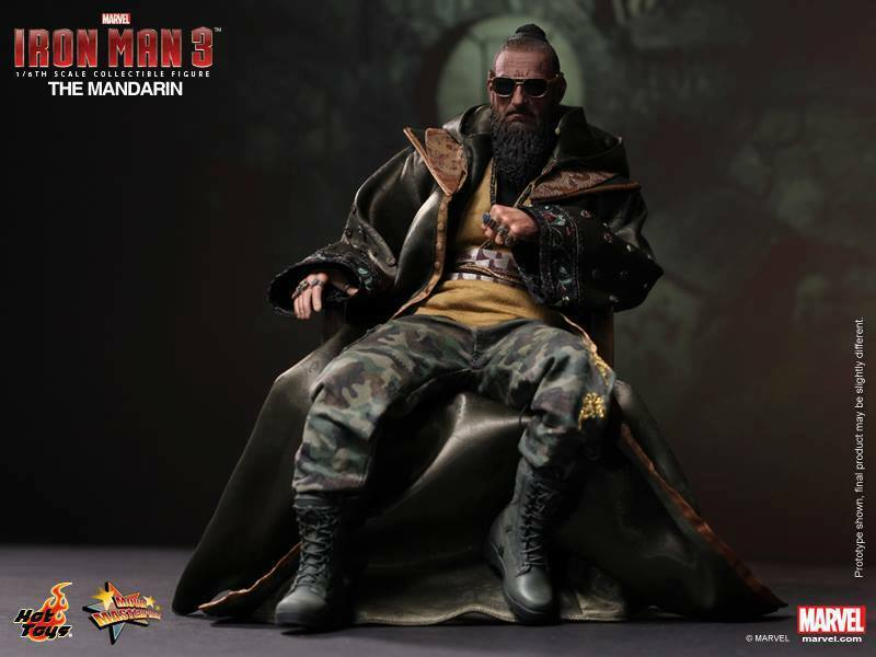 Hot Toys Iron Man 3: The Mandarin Ben Kingsley 1:6 scale HT-902077 on eBay thumbnail
