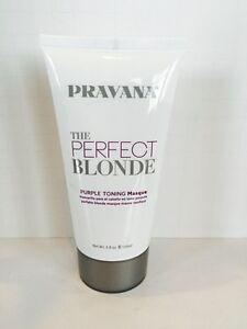 Pravana The Perfect Blonde Purple Toning Masque Mask 5oz Ebay