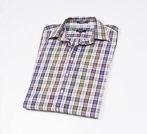 GANT-checked-Mens-Casual-Shirt-long-sleeved-Size-XL