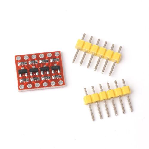 10x 4 Kanal 3.3V-5V Logic Level Konverter Converter Bidirektional Shifter Module