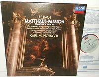 414 057-1 JS Bach St. Matthew Passion Elly Ameling Karl Munchinger 4LP Box Set