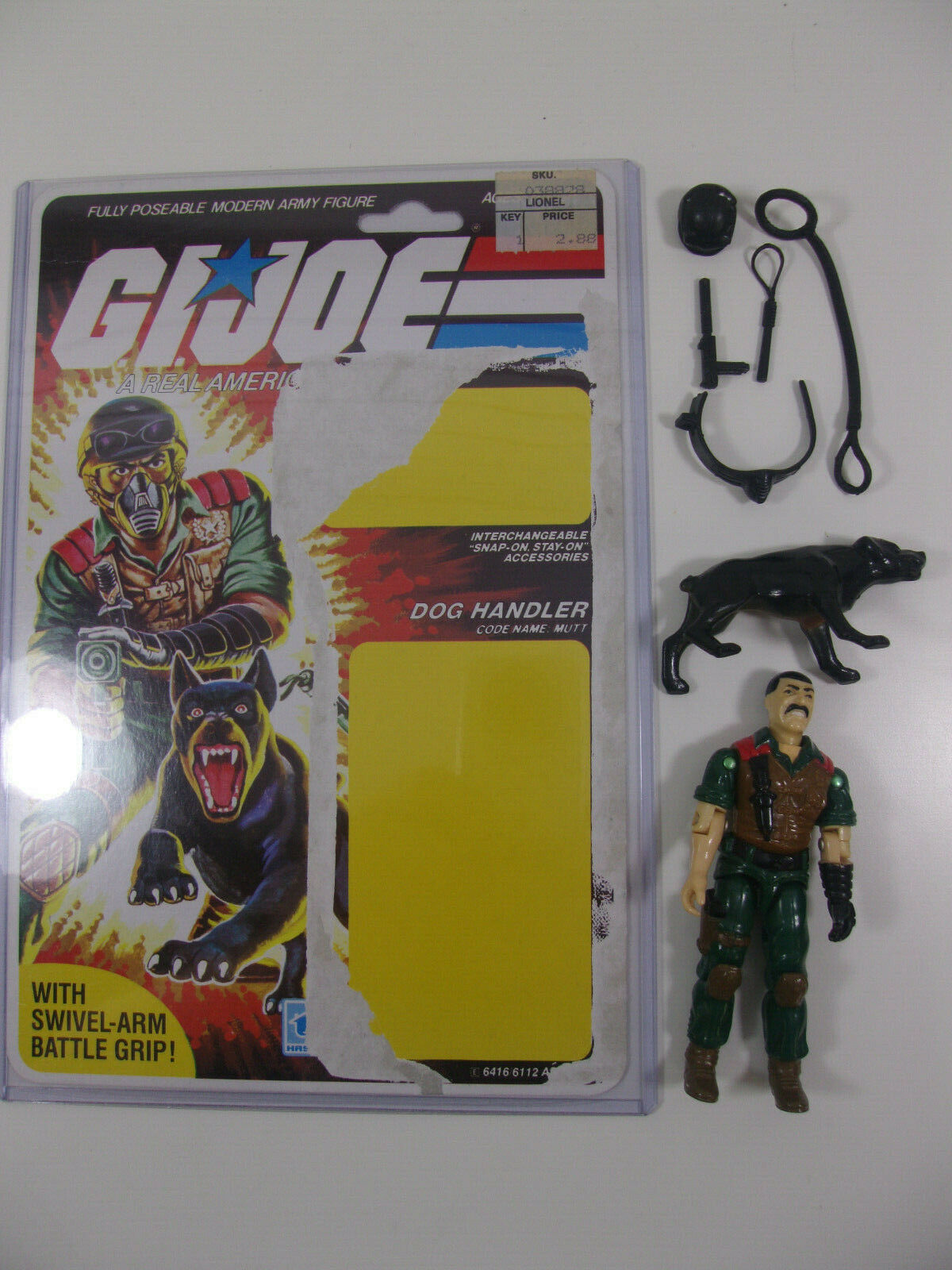 1984 GI JOE un vero eroe americano Heler Mutt & JUNKYARD COMPLETO COMPLETO UNCUT fileautod Retro