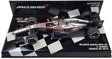 Minichamps McLaren Honda MP4-30 chino GP 2015-Fernando Alonso 1/43 Escala