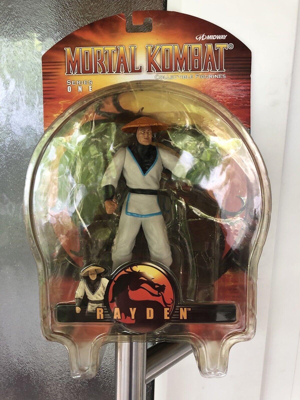Vintage Mortal Kombat Figur Raiden von Palisades Toys  Neu & Ovp