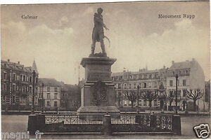 68-cpa-COLMAR-Le-monument-Rapp