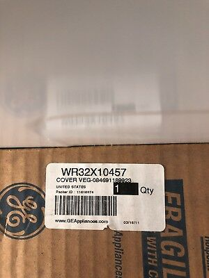 Cover Veg Pan Asm Wr32x10457 Major Appliances