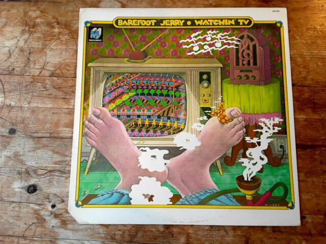 BAREFOOT JERRY - WATCHING TV - SOUTHERN COUNTRY ROCK - VINYL LP - TESTED