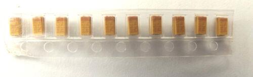 0.47uf 25v 10/% Tantalum SMD TAJA474K025R size  2.5mmx1.5mm x10pcs